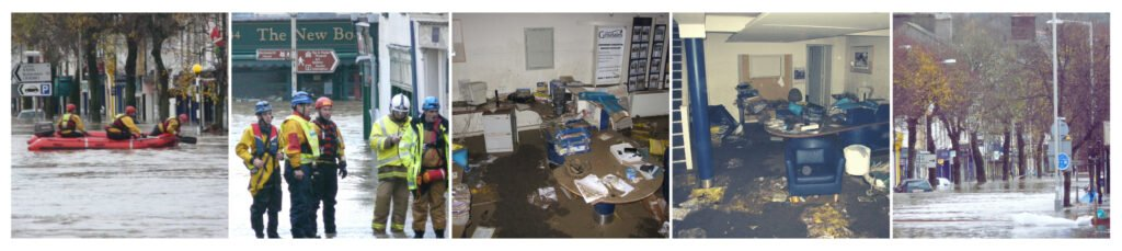 Grisdales Estate Agents in Cockermouth flooded